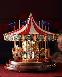 mr musical carousel merry go decor