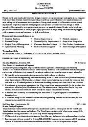 Sample Resume For Computer Engineer by Hardware Engineer Resume Format Resume Format