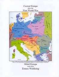 Ww1 Map Europe Post And After Ww1 Map Roundtripticket Me