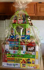 family raffle basket room and pta