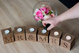 mr and mrs home decor wedding gift for the couple wooden