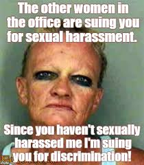Sexual Harassment Meme - ugly lady imgflip