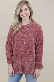 chenille sweater one thing chenille sweater clothing company
