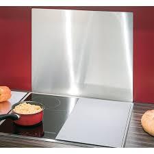 protection murale cuisine plaque protection murale inox protection plaques de cuisson