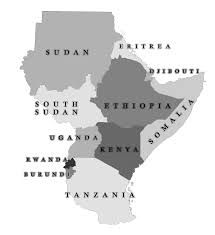 East Africa Map Home Map East Africa