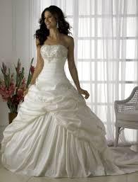 beautiful strapless wedding dresses simple bridal show white