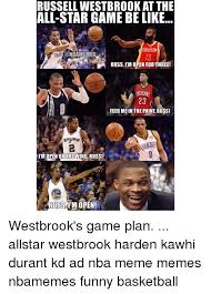 Russell Meme - russell westbrookat the all star game be like houston conbamemes