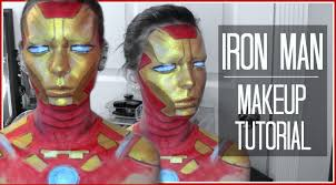 nyx face awards entry 2016 iron man makeup makeup artist
