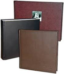 leather albums leather wedding albums