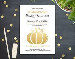 thanksgiving dinner invitation printable fall pumpkin