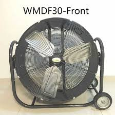 large floor fan industrial 36 inch high velocity belt drive drum fan floor fan for garage