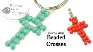 beads cross necklace images Make easy beaded crosses jpg