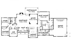 baby nursery ranch plans open floor plan ranch house plans style