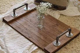 ottoman trays home decor classy wooden tray for coffee table with classic home interior large