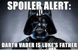 Meme Darth Vader - spoiler alert darth vader isilukes father darth vader meme on me me
