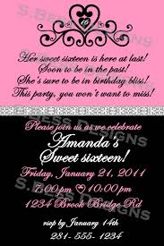superb sweet 16 invitations templates 13 for your invitation ideas