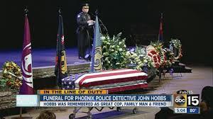 Fallen Officer Flag Phoenix Officer John Hobbs Laid To Rest Youtube