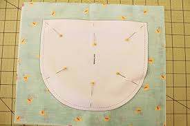 pin and cut with a pattern how to sew