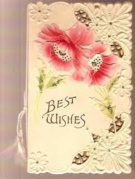 wedding wish card 80 best cards 3 images on vintage greeting cards