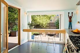 small eat in kitchen ideas kitchen with breakfast bar window
