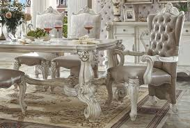 home design trendy victorian style dining table room chairs