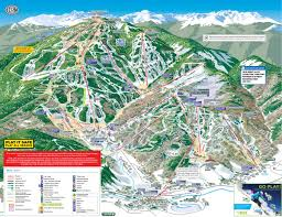 Vail Map Beaver Creek Ski Resort