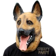 amazon com creepyparty novelty halloween party latex animal dog