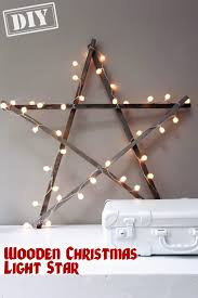 diy christmas light wooden star u2013 top easy interior design for