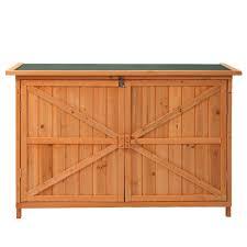 10x12 wood sheds