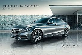 best class of mercedes the best knows no alternative is mercedes c class marketing