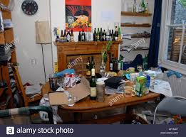 messy apartment room home design