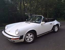1987 porsche 911 cabriolet one family owned 1987 porsche 911 cabriolet for sale on