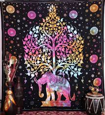 elephant tapestries hippie tapestry tree of life tapestries