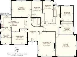4 bedroom house plans 4 bedroom house floor plan a simple 4 bedroom house plan