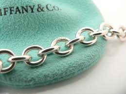 tiffany silver chains necklace images Tiffany co silver 1837 circle link clasp toggle necklace link JPG