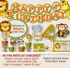 birthday party supplies safari birthday party decorations jungle birthday party