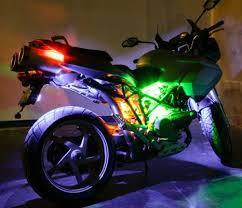 white led motorcycle light kit motorcycle led lighting kit weatherproof rgb color changing led