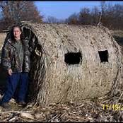Redneck Hay Bale Blind Double Bull Hay Bale Blind Deer Pinterest Hay Bales And Deer