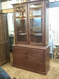 Gun Cabinet Specifications 12 Gun Plain Shaker Style Gun Cabinet With Cleaning Shelf Amish
