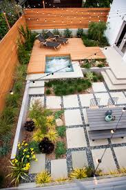 Idea For Backyard Landscaping by 16 Inspirational Backyard Landscape Designs As Seen From Above