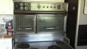 1960 Kitchen by 1960 Flair Electric Vintage Stove Youtube
