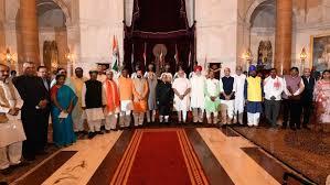 Modi Cabinet List Complete List Of 19 New Ministers In Pm Modi U0027s Government Zee