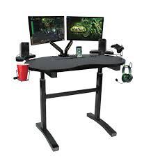 Atlantic Gaming Computer Desk by Atlantic Debuts Cart System And Ascent Gaming Desk