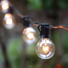 round bulb fairy lights decoration solar led string lights bistro string lights light