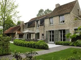 Modern Colonial House Plans by Villabouw Sels Vlaamse Bouwstijl Met Recuperatie Oude Steen En