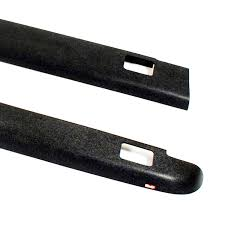 Amazon Com Wade 72 41621 Truck Bed Rail Caps Black Smooth Finish