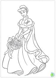 christmas princess coloring pages