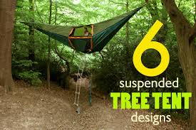 tents for 6 suspended tree tents for a lighter than air cing experience