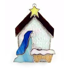 43 best a stained glass nativity images on stained