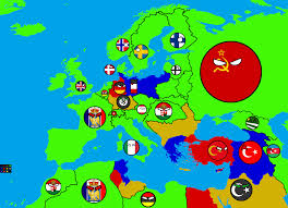 Turkey Map Europe by Season 1 Alternate Future Of Europe In Countryballs Part 12